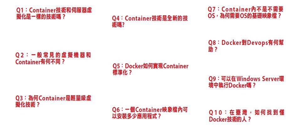 10個Q&A快速認識Docker