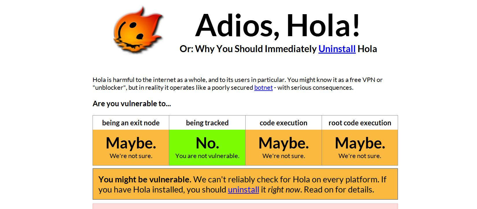 免費的最貴!資安研究人員呼籲立即移除VPN服務Hola,以免被賣去當殭屍