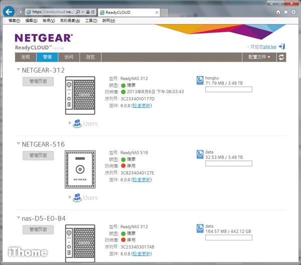 NAS|Netgear ReadyNAS 300 搭載全新ReadyNAS OS | iThome