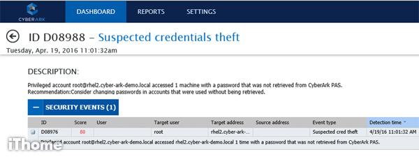 特權帳號管理:CyberArk 提供易判讀的風險指標| iThome