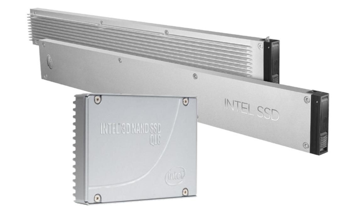 英特尔推出首款采用QLC NAND的资料中心等级NVMe SSD