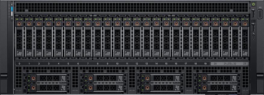 可容納32臺硬碟、4張GPU卡,Dell EMC推新款4路伺服器| iThome