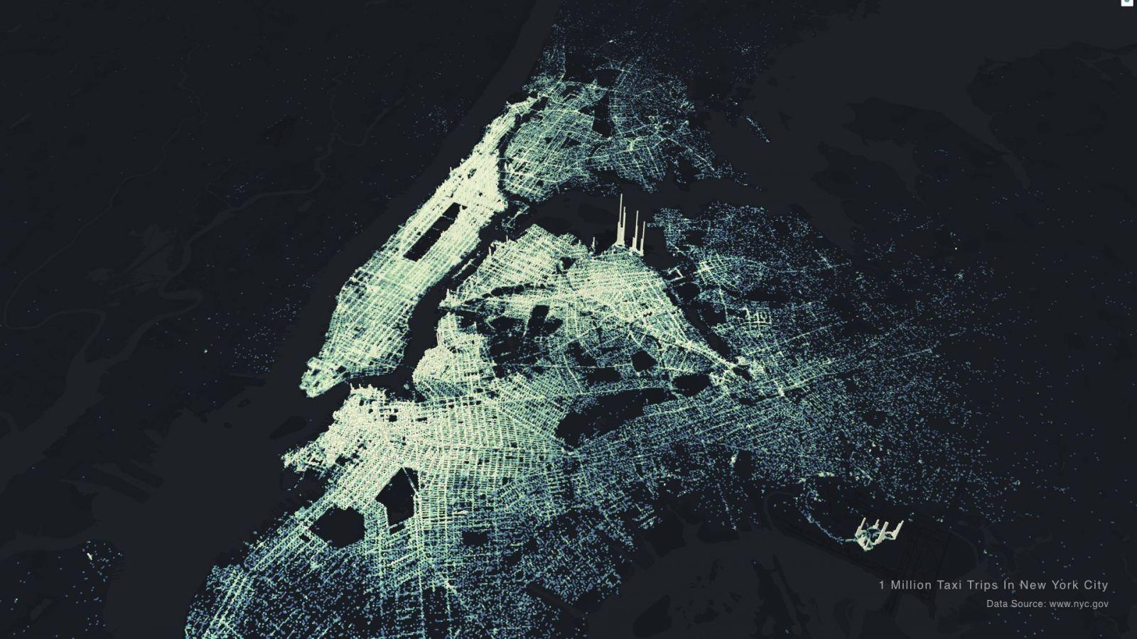 Uber開源地理資訊視覺化工具kepler gl,連Airbnb和Google都愛用