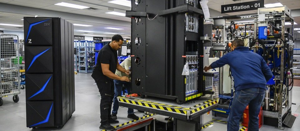 IBM新一代大型主机Z15系统一天可执行最高1兆次网页运算