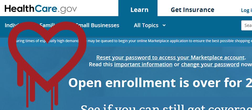 美國歐巴馬健保網站HealthCare.gov全面取消使用者現有密碼,要求重設密碼。