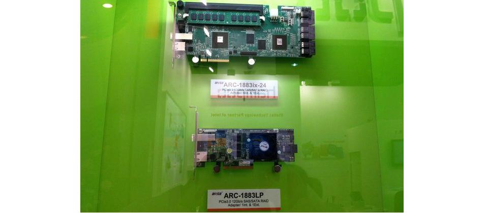 漸趨完整的12Gb SAS產品—板卡