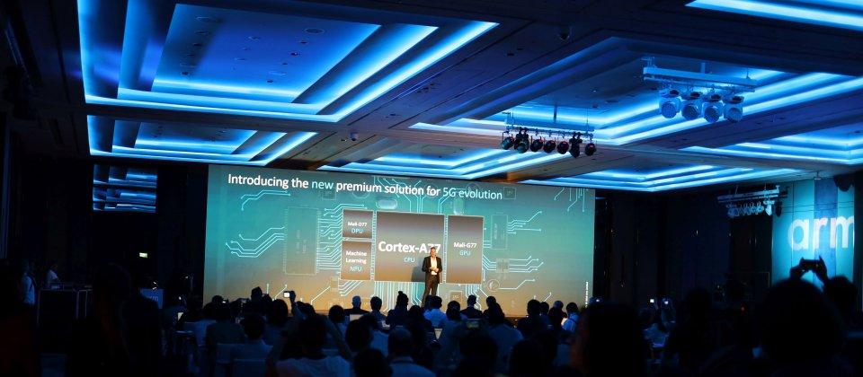 Arm发布新一代旗舰级Cortex-A77处理器与G77 GPU 全面助力人工智能 ... ...