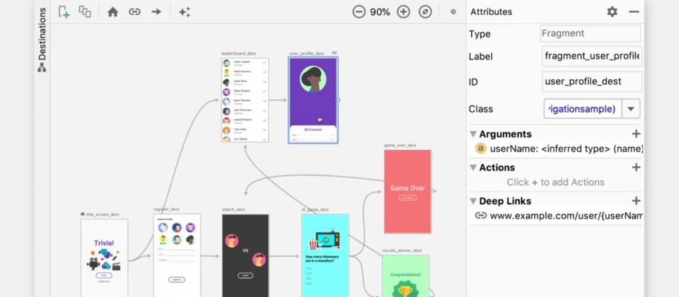 Android Jetpack導覽元件穩定版釋出,可為App任意畫面提供深度