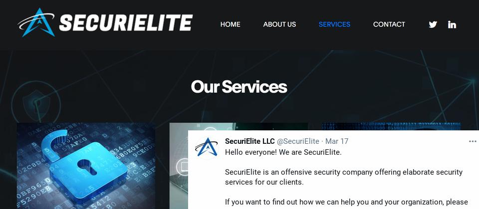 北韓駭客為了鎖定資安研究人員發動攻擊,特別架設了假的資安公司網站,並建立對應的推特帳號
