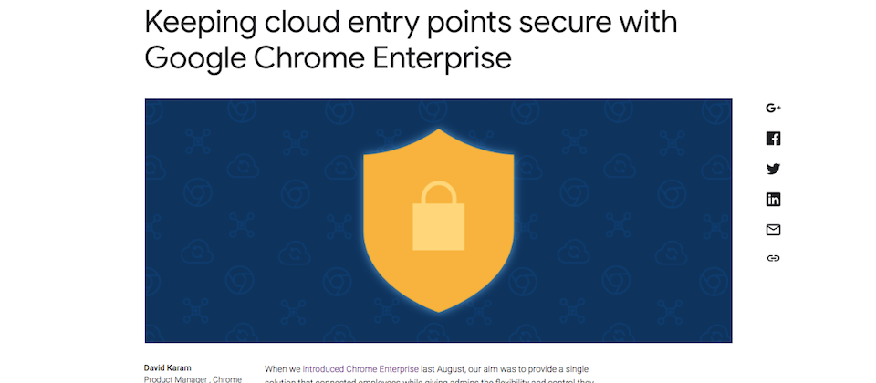 Chrome Enterprise新增多項功能加強安全性,還要讓企業管理複雜