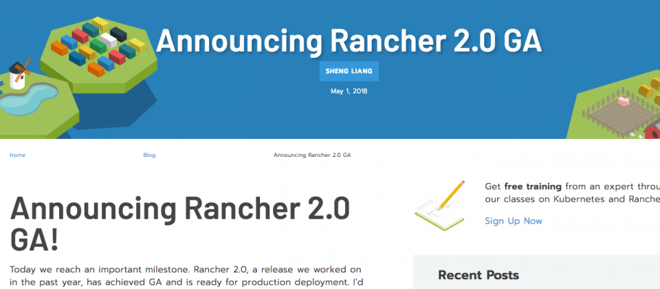 容器管理平臺Rancher 2 0版出爐,通吃雲端三龍頭代管K8s服務  iThome