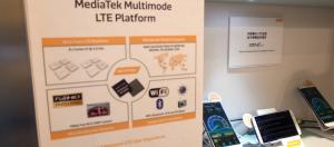 聯發科在Computex現場展示4G LTE解決方案