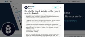 Bancor Network Twitter