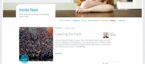 Google旗下智慧溫控裝置子公司Nest CEO Tony Fadell在官網宣布自己離去的消息,透露自己想要追求其他產業的創新。