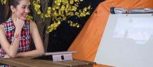 Yoga Tablet 2 Pro平板電腦可投影50吋畫面。