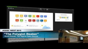 Embedded thumbnail for ODSC WEST 2015 | The Polyglot Beaker Notebook