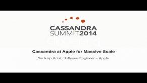 Embedded thumbnail for Apple Inc.: Cassandra at Apple for Massive Scale