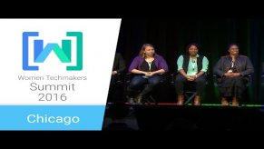 Embedded thumbnail for Women Techmakers Chicago Summit 2016: Entrepreneuers and Their Journeys