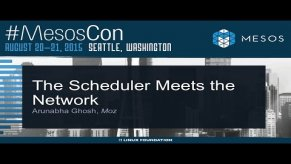 Embedded thumbnail for The Scheduler Meets the Network