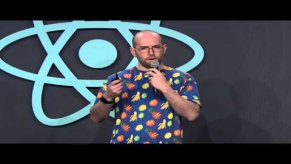 Embedded thumbnail for React.js Conf 2016 - weighing the benefits of RxJS in React applications