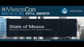 Embedded thumbnail for Keynote: State of Mesos