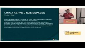 Embedded thumbnail for An introduction to container security - Thomas Cameron