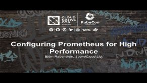 Embedded thumbnail for Configuring Prometheus for High Performance [A] - Björn Rabenstein, SoundCloud Ltd.