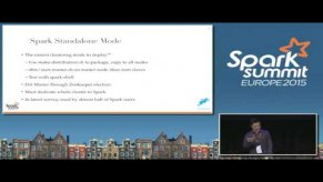 Embedded thumbnail for Productionizing Spark and the Spark REST Job Server