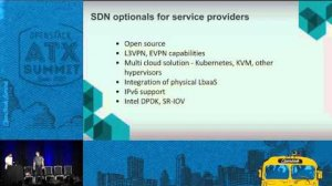 Embedded thumbnail for Operators experience and perspective on SDN with VLANs and L3 Ne