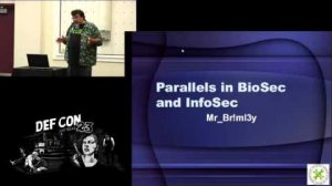 Embedded thumbnail for Parallels in BioSec and InfoSec
