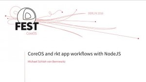Embedded thumbnail for CoreOS and rkt app workflows with NodeJS