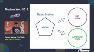 Embedded thumbnail for Modern Web 2016 - React Native For Web