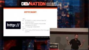 Embedded thumbnail for DevNation 2015  - The Internet of Things Protocol Roundup
