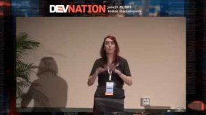 Embedded thumbnail for DevNation 2015 Keynote  - 9 ways to stop hurting and start helping women in tech