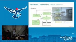Embedded thumbnail for Hello World for Murano - End-to-End Process in a Docker Container and More