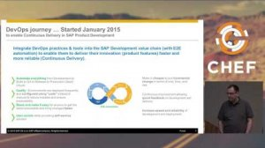 Embedded thumbnail for SAP IT Journey into Devops - July 12, 2016