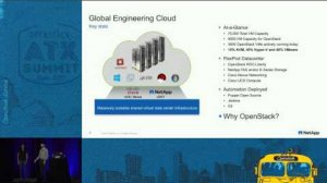 Embedded thumbnail for OpenStack at Scale inside NetApp Trials and Tribulations