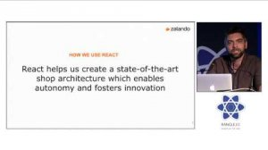 Embedded thumbnail for Zalando session at react-europe 2015