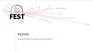 Embedded thumbnail for Keynote: Andrew Randall, Evangelist at Project Calico;