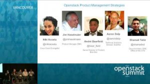 Embedded thumbnail for OpenStack Product Management Strategies Panel