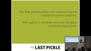 Embedded thumbnail for Everything to Know about Tunable Consistency (Edward Capriolo, The Last Pickle) | C* Summit 2016