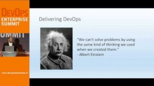 Embedded thumbnail for DOES14  - DevOps: From the Center Out