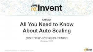 Embedded thumbnail for AWS re:Invent 2015   (CMP201) All You Need To Know About Auto Scaling