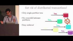 Embedded thumbnail for Distributed Transactions - The Fairness Isolation Throughput Tradeoff: Jose Faleiro, Yale University