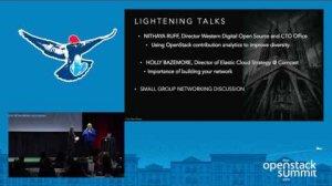 Embedded thumbnail for Women of OpenStack Breakfast- Sponsored by IBM