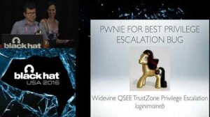 Embedded thumbnail for Pwnie Awards 2016