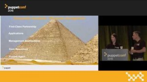 Embedded thumbnail for Puppet Enterprise Roadmap and How to Succeed With It – Susannah Axelrod & Lindsey Smith