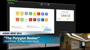 Embedded thumbnail for ODSC WEST 2015 | The Polyglot Beaker Notebook
