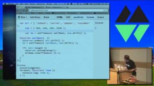 Embedded thumbnail for MountainWest JavaScript 2014 - Adding Even More Fun to Functional Programming With RXJS