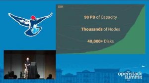 Embedded thumbnail for Swift at Scale- The IBM SoftLayer Story
